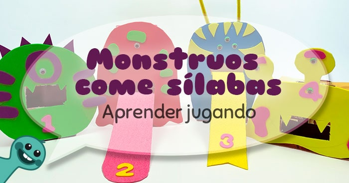 juegos educativos monstruos come silabas