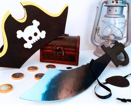 accesorios disfraz de pirata