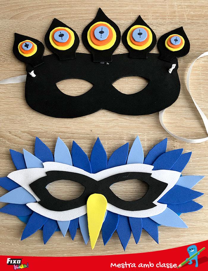 antifaces de carnaval para niños como hacerlo