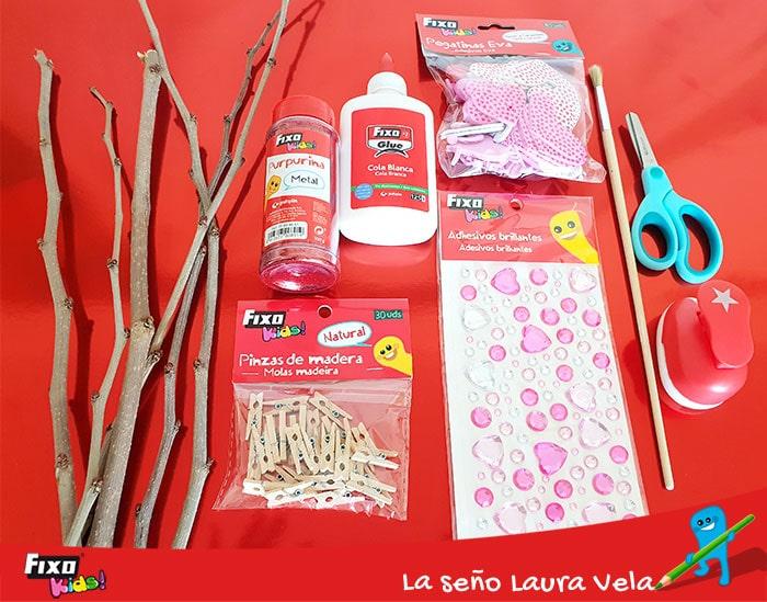cómo usar la cola blanca fixo glue en manualidades infantiles