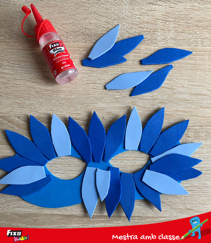 silicona líquida fixo glue para manualidades con foam