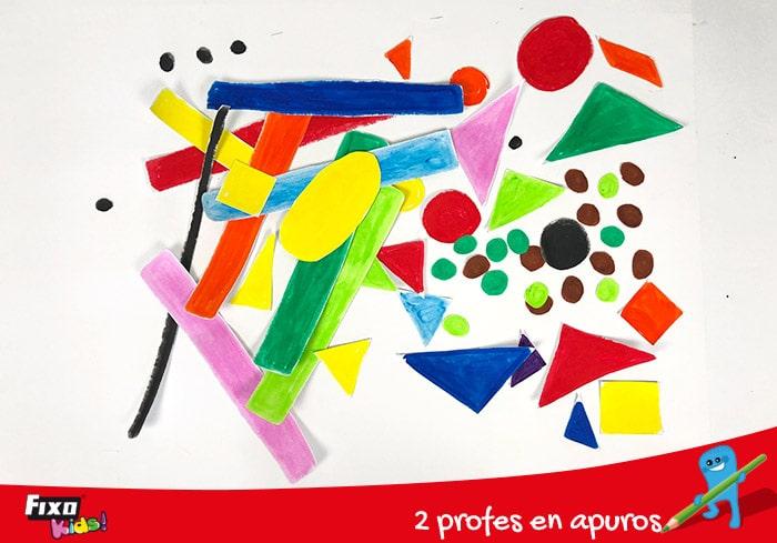 aprender coloreando las figuras geometricas basicas