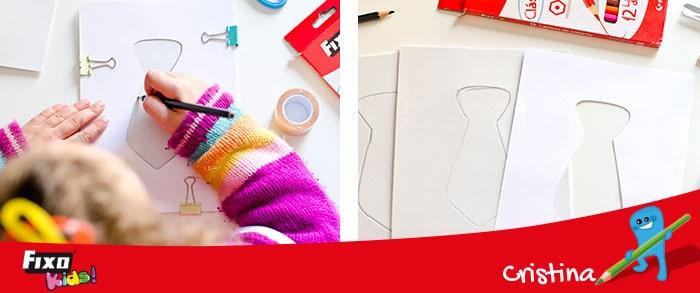 cómo hacer una tarjeta shaker con niños