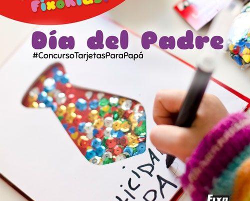concurso infantil tarjetas para papá
