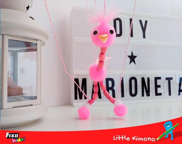 marionetas y pompones