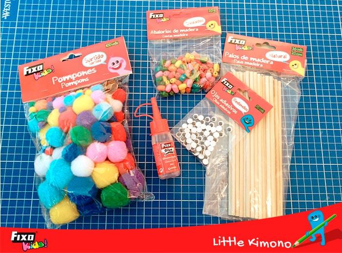 materiales para hacer marionetas con niños