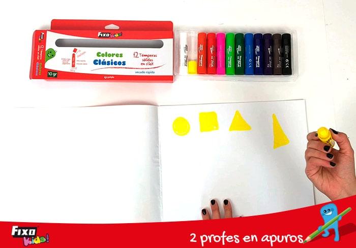 recursos para profesores aprender las figuras geometricas básicas y los colores