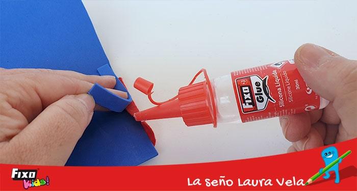 silicona líquida fixo glue para manualidades infantiles