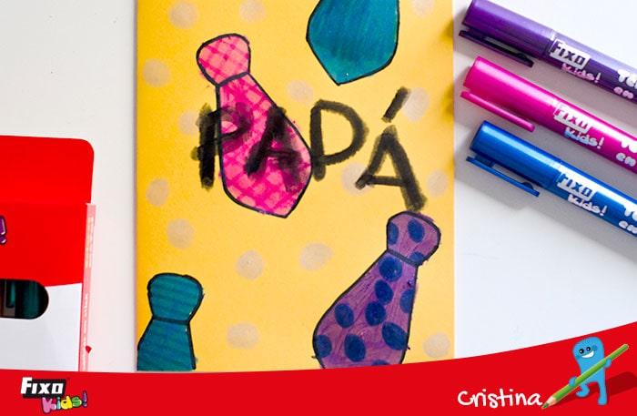 tarjetas para niños de 3 a 5 años