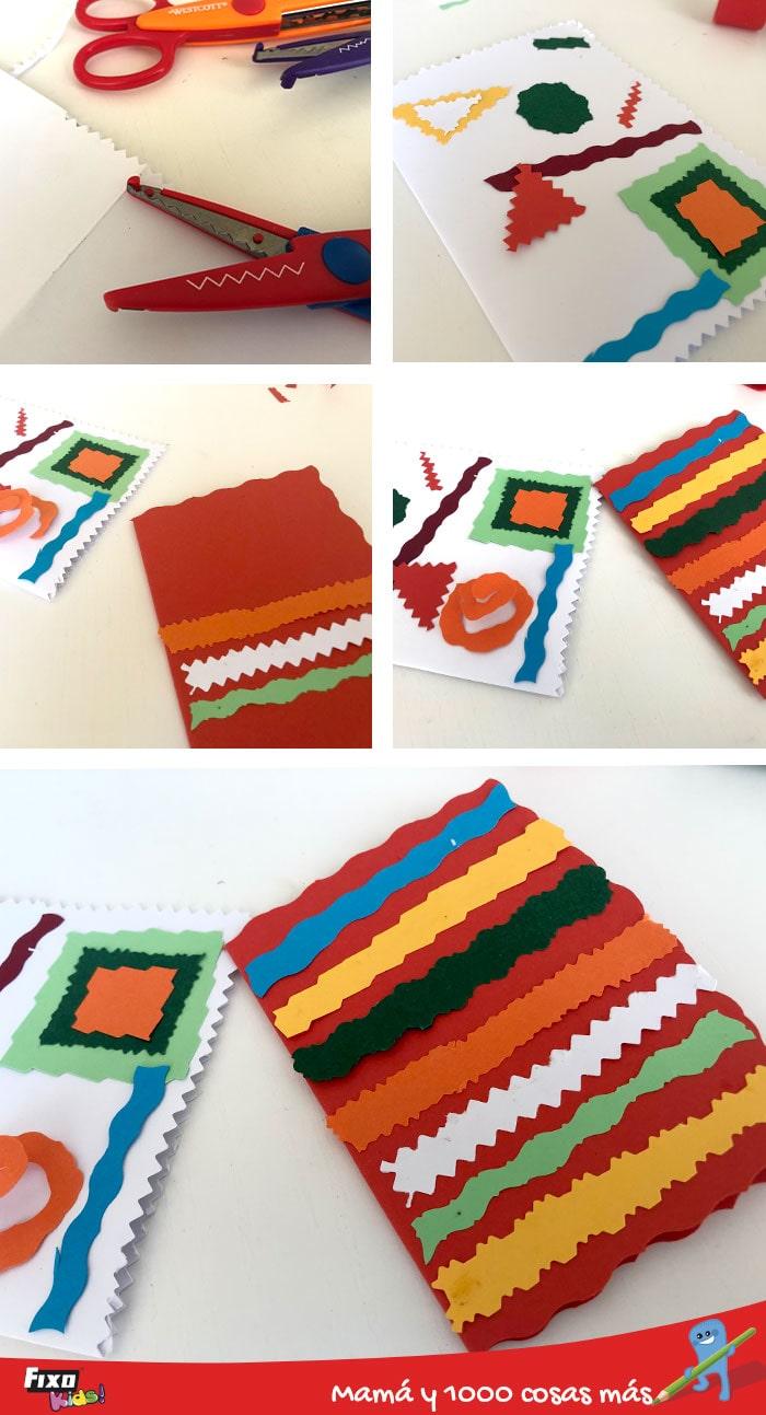 diy tarjetas creativas para niños