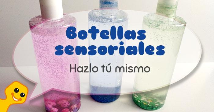 tutorial fácil para hacer botellas sensoriales