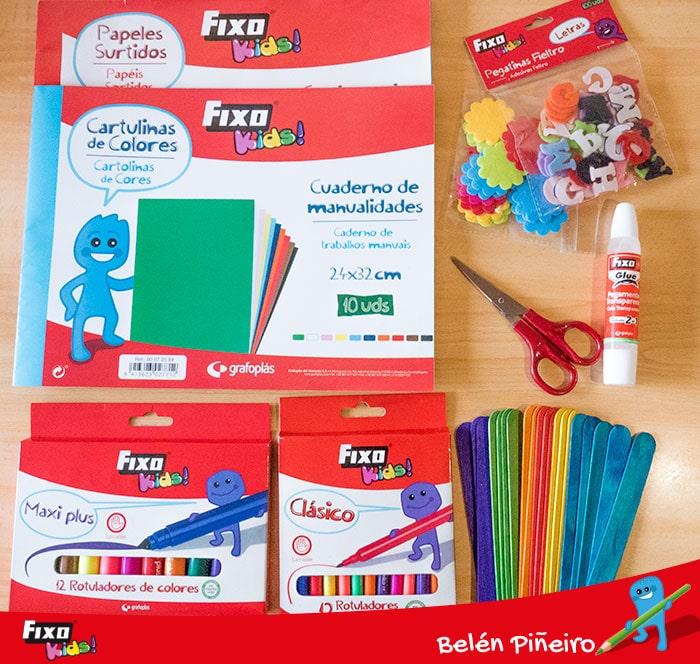 materiales fixo kids para hacer actividades de educación primaria