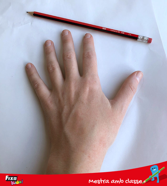 cómo dibujar tu mano fácilmente