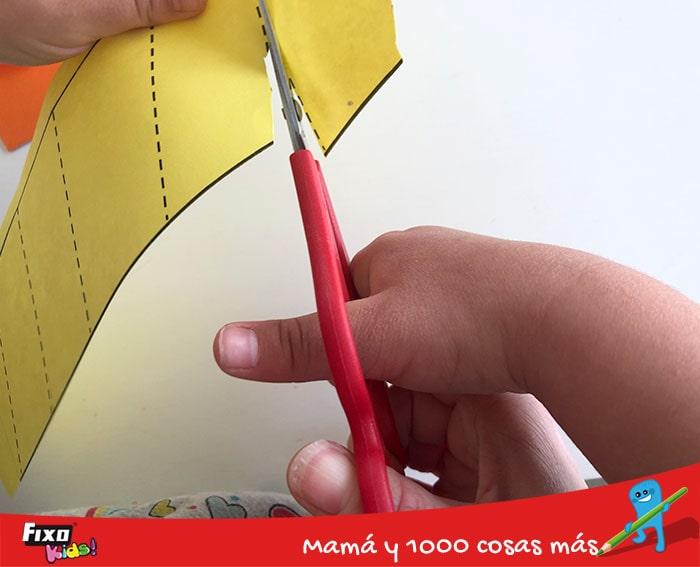 como usar tijeras de doble mango para aumentar la precision en el corte