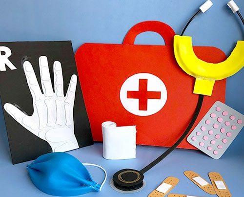 juego simbólico jugar a médicos