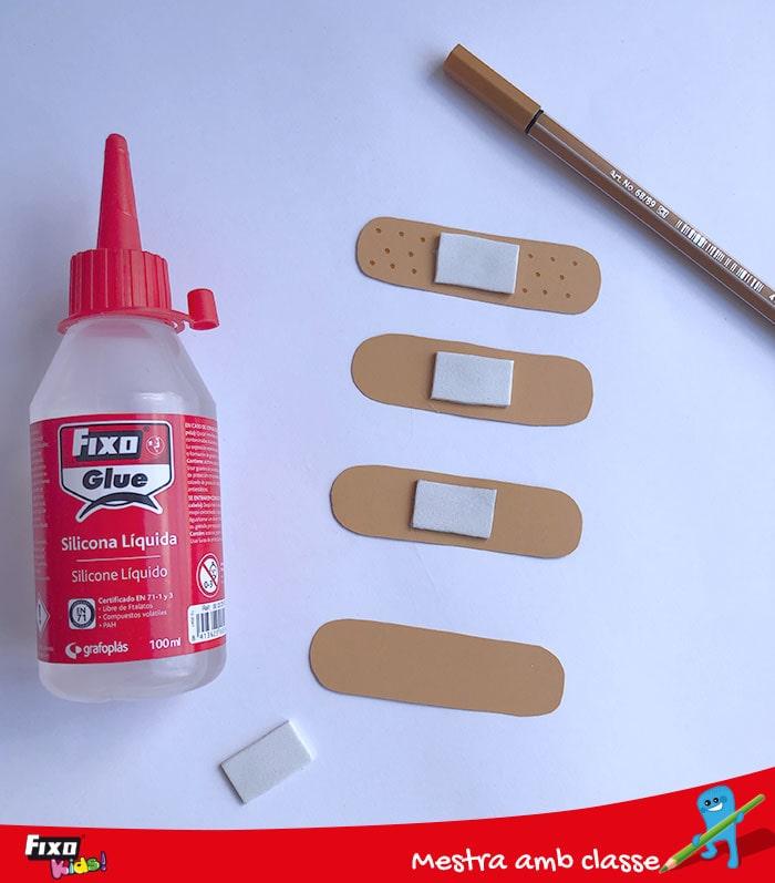 silicona líquida fixo glue para actividades escolares