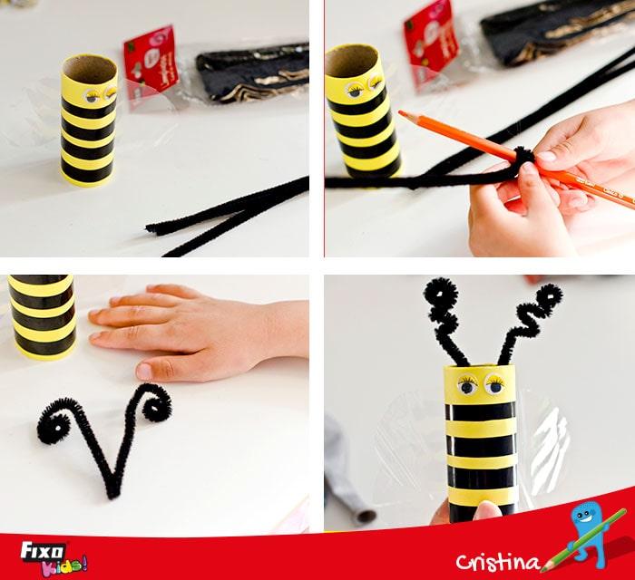como hacer antenas con limpiapas