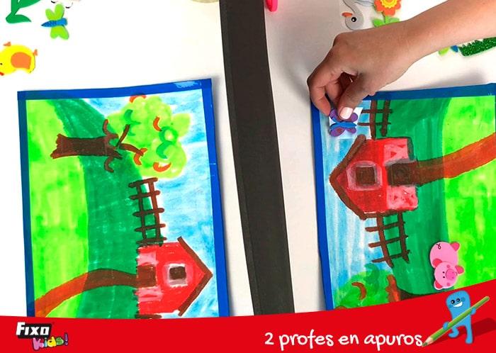 juego de barrera para niños