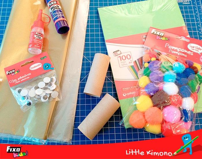materiales fixo kids para niños