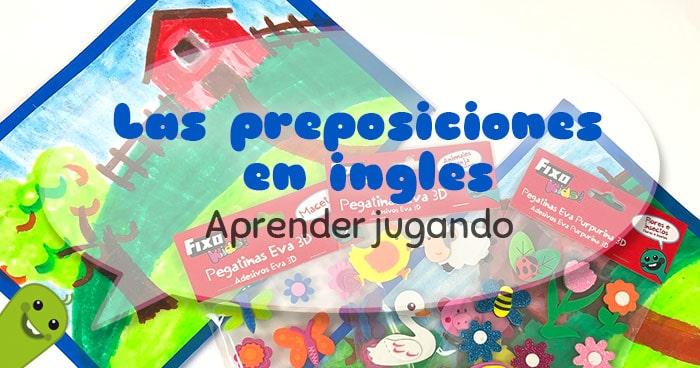 cómo trabajar las preposiciones en ingles