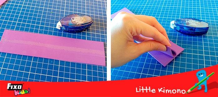 como pegar facilmente con adhesivo en cinta fixo glue