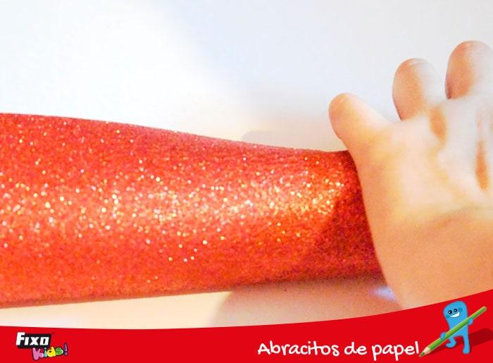 goma eva purpurina adhesiva