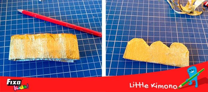 manualidades con papel crespon faciles