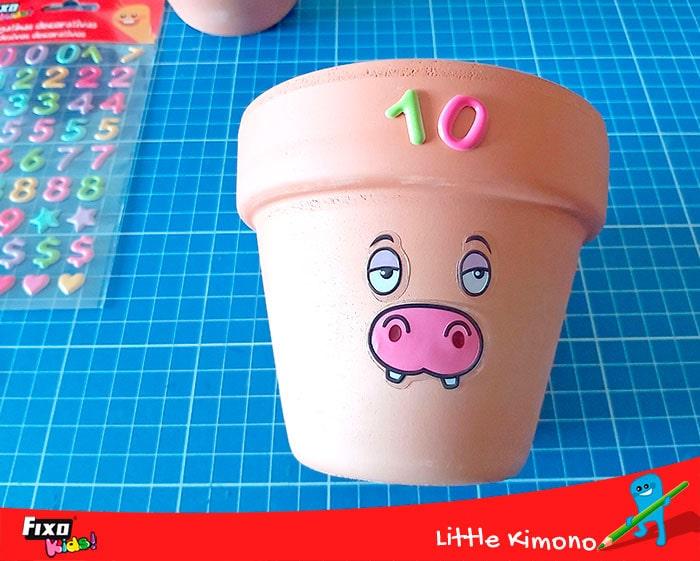 cómo decorar con pegatinas infantiles