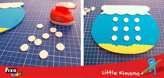 cómo hacer circulos con perforadoras de círculos