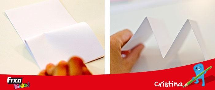 como hacer tarjetas con cartulinas