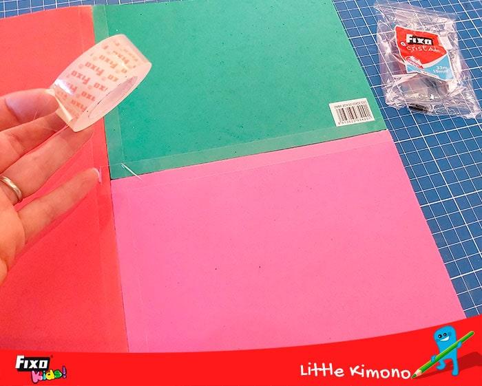 como usar fixo para manualidades infantiles