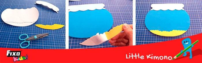 cómo usar goma eva adhesiva en manualidades adhesivas
