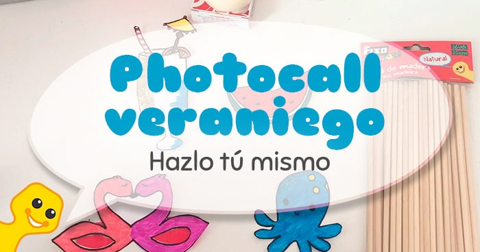 diy photocall veraniego