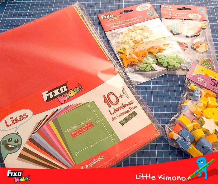 materiales fixo para hacer juegos caseros
