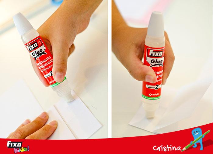 pegamento transparente para manualidades cartulinas