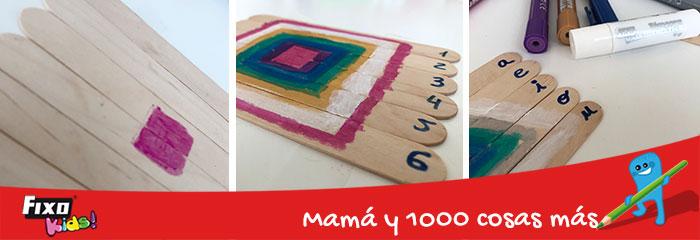 como hacer puzzles para niños con temperas