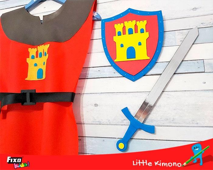 como hacer un disfraz medieval