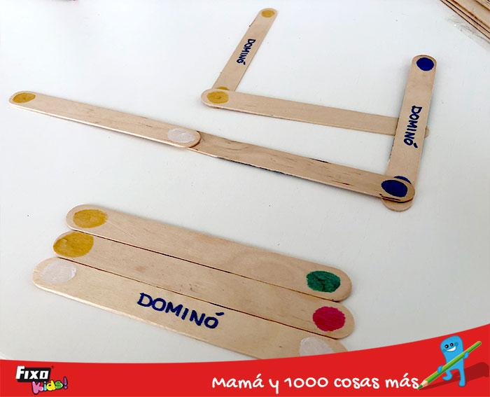 como jugar al domino para niños
