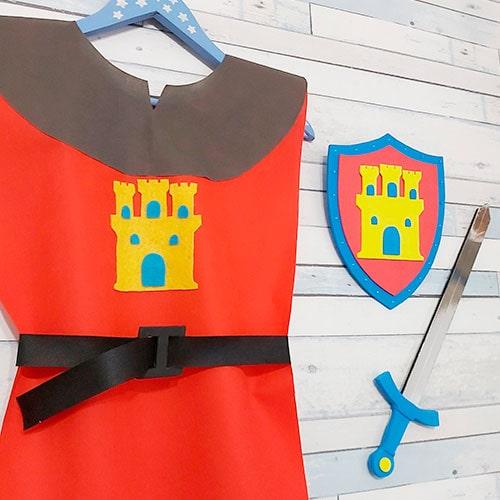 diy: disfraces medieval niños
