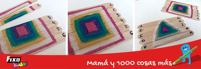 juegos para niños aprender formas geometricas basicas
