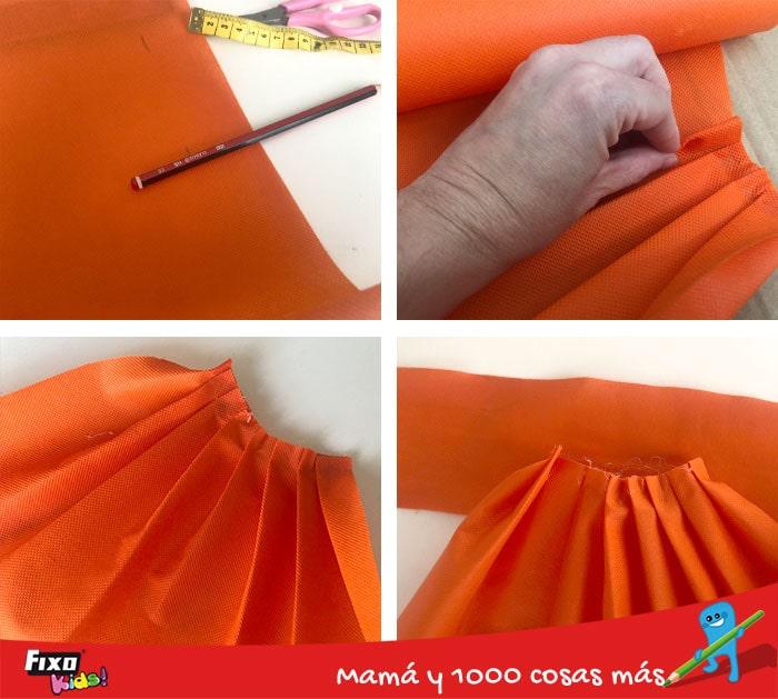 como hacer una falda tutu para niños sin coser