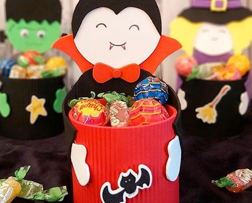 dulceros para halloween