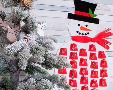 calendario adviento para ninos