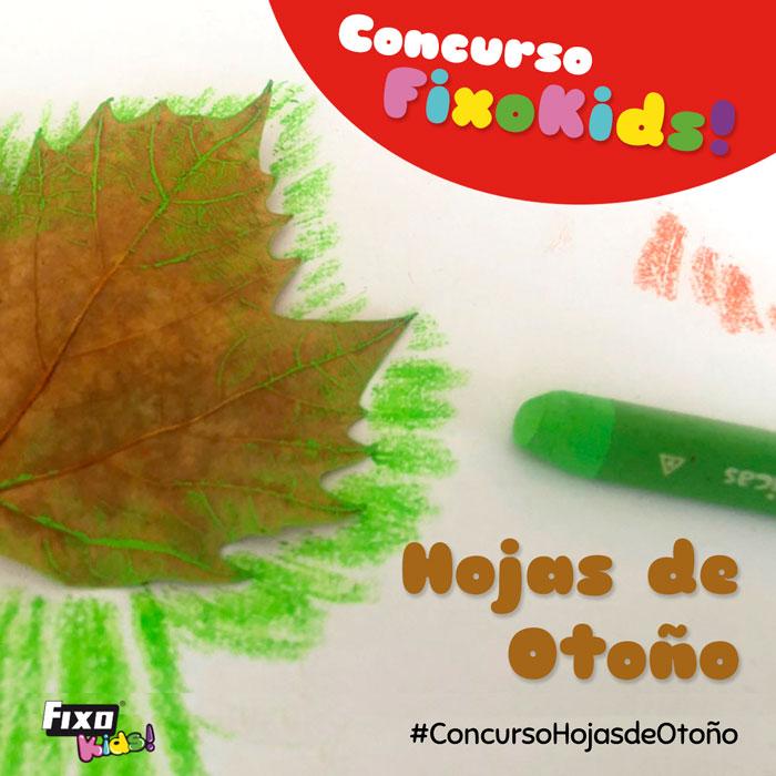 concurso infantil hojas de otoño