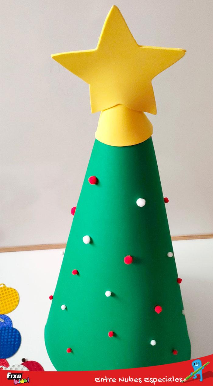 arbol navidad foam 3d