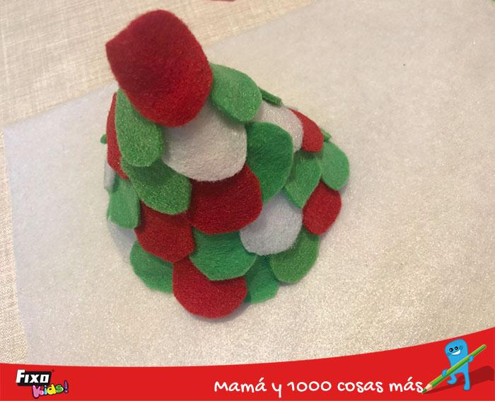 como hacer un arbol de navidad para niños