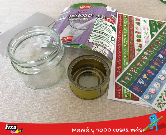 materiales de reciclaje creativo navideño