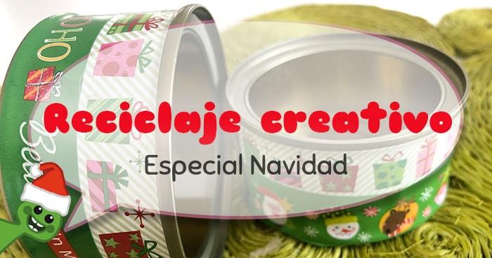 reciclaje creativo navideño