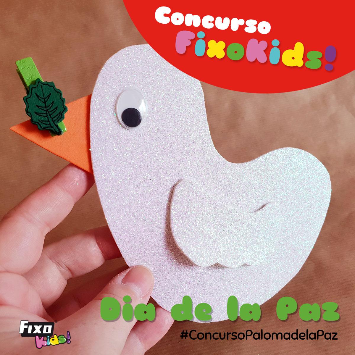 concurso infantil paloma de la paz