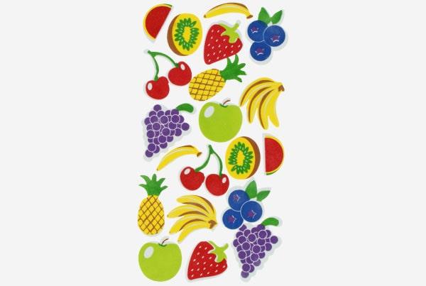 Referencia 68017800 Figuras Eva Adhesiva 3d Frutas Fixo Kids